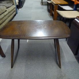 Dk Stained Small Rect Ercol Coffee Table
