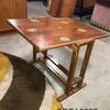 Walnut Folding Nautical Stickers Coffee Table