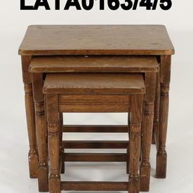 40'S Large Mid Oak Nest Table