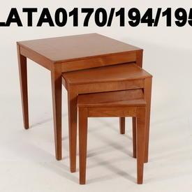 Caligaris Lge Cherrywood Nest Table
