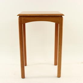 Tall Cherry Minty Side  Table