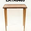 Teak Square 4 Tapered Leg/Lip Top  Large  Nest Table  (50s)