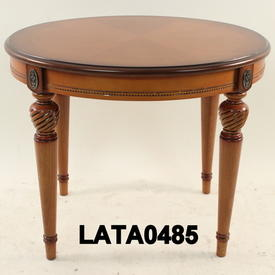 66Cm Honey Vaneer infanta Oval Top Lamp Table