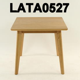 55Cm Square Oak Tot Lamp Table