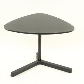 Triangular Black Plastic Adjustable Table