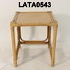 Bamboo And Rattan Large Nest Table