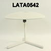 White Triangle 3 Leg Occaisional Table
