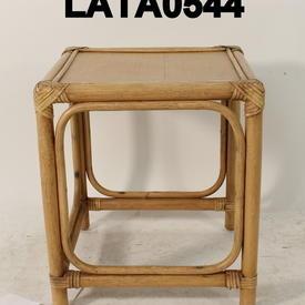 Bamboo And Rattan Medium Nest Table