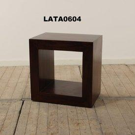 Guru Dk Wood Flow Cube Lamp Table