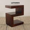 Guru Dk Wood Flow S Shape Lamp Table