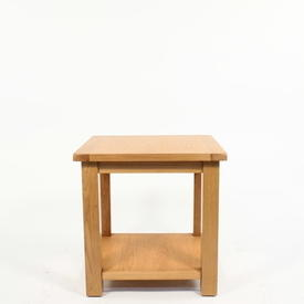 Jri Miami Oak 2 Tier Lamp Table