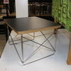 40 Cmx34 Cm Black Top Polished Stainless Steel Base Charles Eames Side Table