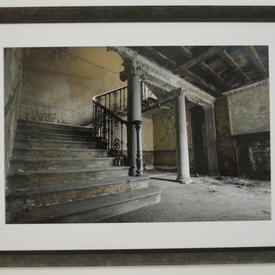 N.P Burnished Grey Frame Court Grand Staircase Photograph (73 Cm X 98 Cm)
