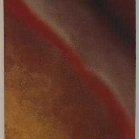 J.P Rust & Gold 'red02/1' Abstract Painting (100 Cm X 80 Cm)