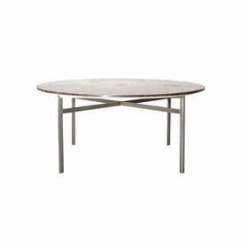 Circ Purple Marble Top Dining Table on Ali Base