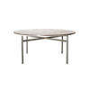 Circ Purple Marble Top Dining Table On Ali Base ( H: 73cm Diam: 160cm)