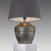 Large Galvanised Table Lamp