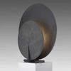 Large Grey Oxidised Aluminium 'ad' Table Lamp