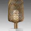 Large Gold Spun 'antenna' Table Lamp