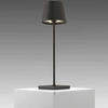 Dark Grey Led 'poldina' Cordless Table Lamp & Charger (Charger Rv £40 + Vat If Not Returned)