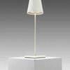 Matt White Led 'poldina' Cordless Table Lamp & Charger (Charger Rv £40 + Vat If Not Returned)