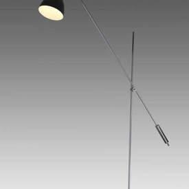 Chrome & Black Task Anglepoise Floor Lamp