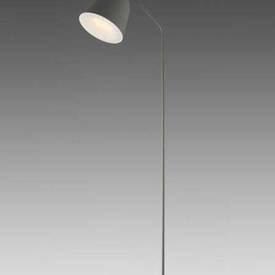 Light Grey ''Cache'' Floorstanding Reading Light