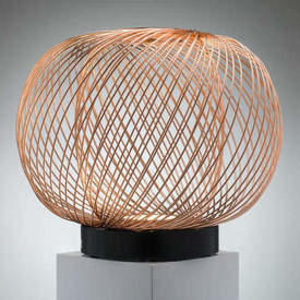 Copper Wire Ball Led ''Anwar'' Floor Lamp