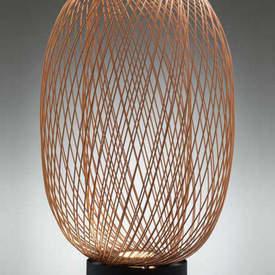 Copper Wire Egg Led ''Anwar'' Floor Lamp