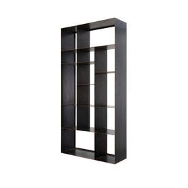 "Medium Black Steele ""Kube"" Open Shelf Unit"