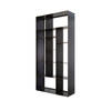Medium Black Steele 'kube' Open Shelf Unit