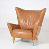 "Conran Lt Brown Leather ""Matador"" Leather Armchair"