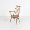 50's Ercol  Elm Stick Back Carver D/Chair