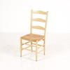 Yesterday Pine Fern Yellow Rush Seat Chair