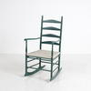 Shaker Green Stained Rocking Chair