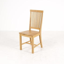 Oak 9 Bar Stick Back Kitchen Chair