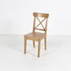 Pine Crossback Occasional 'kane'  Dining Chair