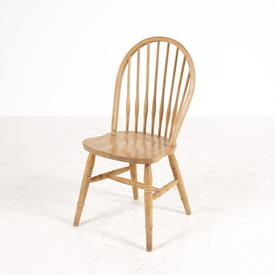 Windsor Pine Dome Stick Back Kitchen Chair