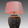 Extra Large Grey Mottled Ceramic Table Lamp