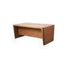 Amercian Walnut 'x10' Desk With Modesty Panel (190cm X 100cm X 76cm H)