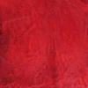 Red Cow Hide Rug ( L: 244cm W: 226cm )