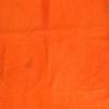 Orange Cow Hide Rug ( L: 230cm W: 227cm )