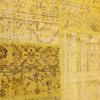Yellow Distressed Over Dyed ''anatolian'' Rug ( L: 341cm W: 241cm )