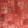 Red Distressed Over Dyed ''anatolian'' Rug ( L: 344cm W: 249cm )