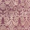 Purple Damask ''deniel'' Indian Wool Rug ( L: 306cm W: 207cm )