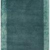 """2 Tone Aqua Blue """"Ascot"""" Rug ( L: 230cm W: 160cm )"""