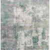 """Green, Cream & Blue """"Gatsby"""" Pattern Rug ( L: 230cm W: 160cm )"""
