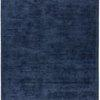 "Navy Blue Striped ""Reko"" Rug ( L: 300cm W: 200cm )"