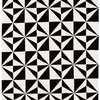 "Black & White Mono Mosaic ""Arlo"" Rug ( L: 230cm W: 160cm )"