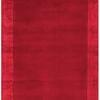 "Red ""Ascot"" Rug With Border ( L: 230cm W: 160cm )"